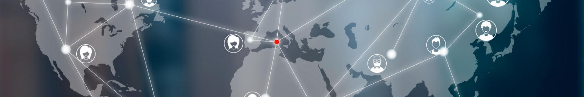 Immagine di testata raffigurante una mappa stilizzata
